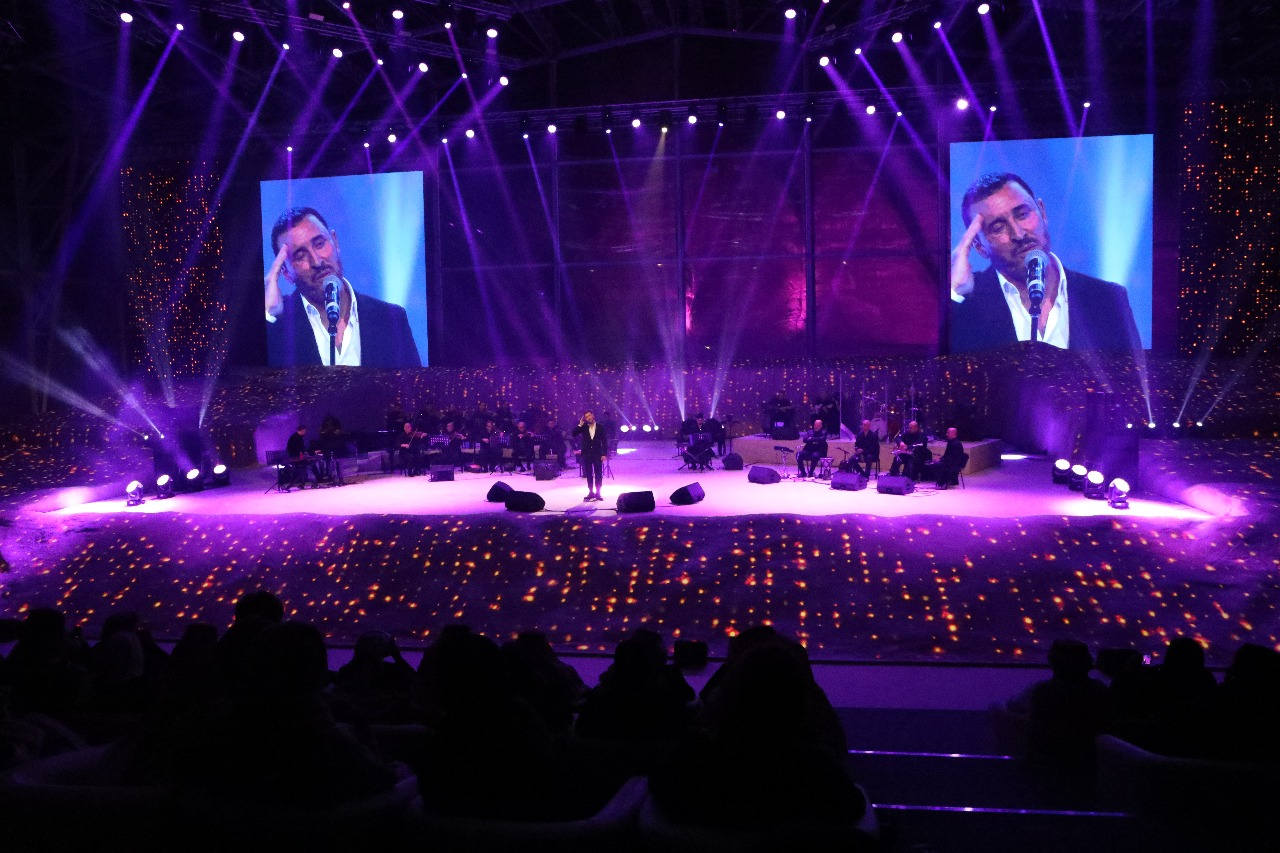 Kia Performance Center >> Music Performance by Kadim al-Saher | mmg M.E.