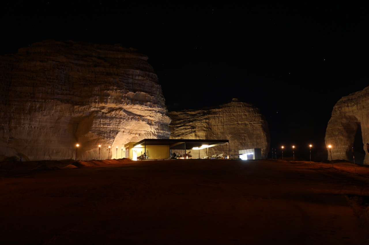 Elephant Rock Winter at Tantora